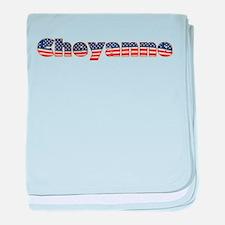 American Cheyanne baby blanket