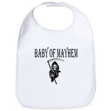 Blue Baby of Mayhem Bib