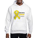 Sarcoma cancer Hooded Sweatshirt