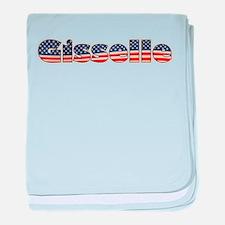 American Gisselle baby blanket