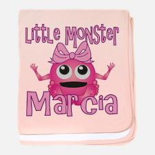Little Monster Marcia baby blanket