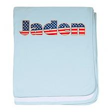 American Jaden baby blanket