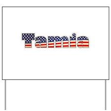 American Tamia Yard Sign