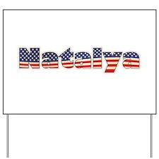 American Natalya Yard Sign
