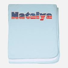 American Natalya baby blanket