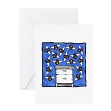 Langstroth and Bees Greeting Card
