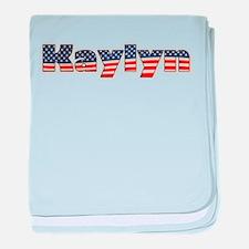 American Kaylyn baby blanket