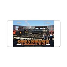Train Photos of Steamtown- Aluminum License Plate
