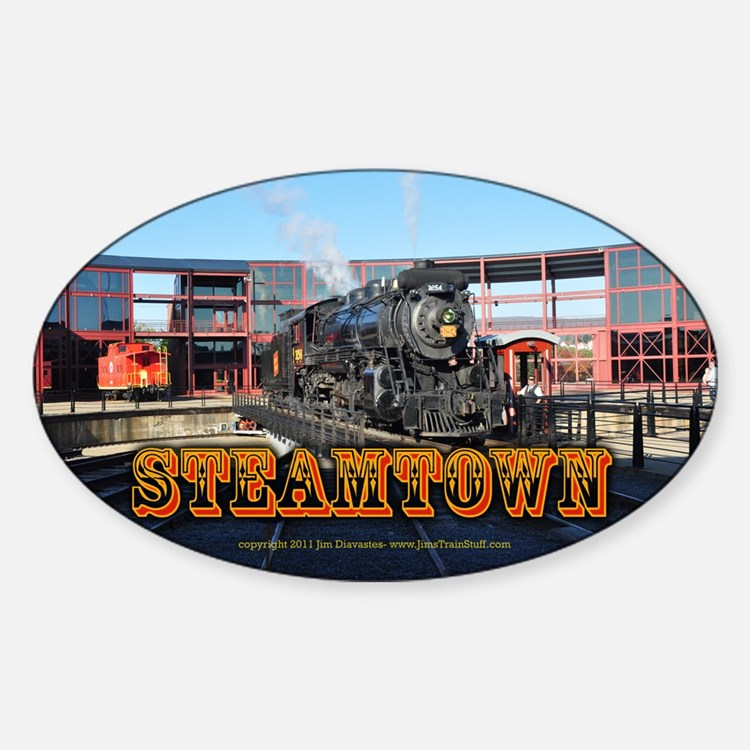 Train Photos of Steamtown- Decal