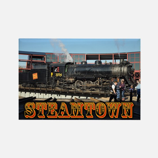 Train Photos of Steamtown- Rectangle Magnet