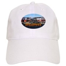 Train Photos of Steamtown- Baseball Cap