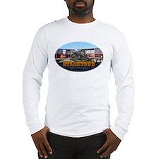 Train Photos of Steamtown- Long Sleeve T-Shirt