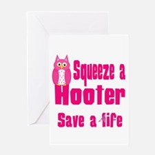 Squeeze a Hooter Greeting Card