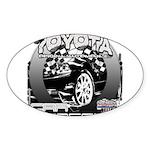 Toyota Sticker (Oval 10 pk)