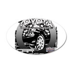 Toyota 22x14 Oval Wall Peel