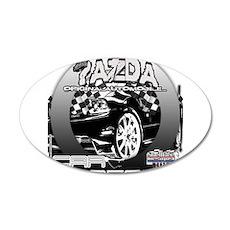 Mazda 38.5 x 24.5 Oval Wall Peel
