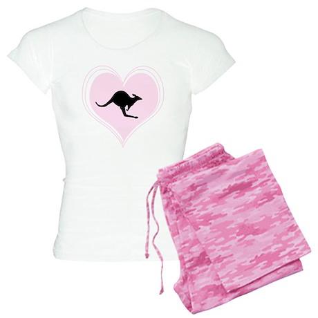 Aussie Love (Pink) Women's Light Pajamas