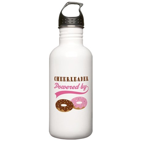 Cheerleader Gift Donuts Stainless Water Bottle 1.0