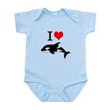 Killer whale Bodysuits