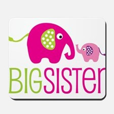 Big Sister Elephant Mousepad