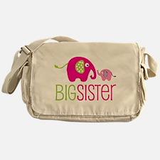 Big Sister Elephant Messenger Bag
