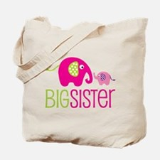 Big Sister Elephant Tote Bag