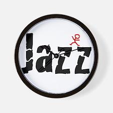 Funny Jazz dance Wall Clock