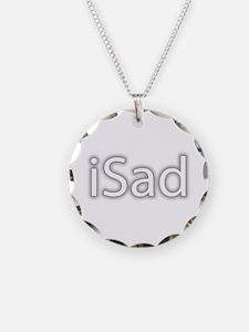 iSad White - Necklace