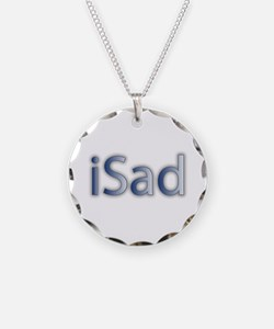 iSad Cool Blue - Necklace
