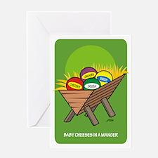 Christmas Card--Cheeses
