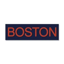 Boston Car Magnet 10 x 3