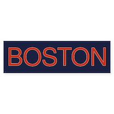 Boston Bumper Bumper Sticker