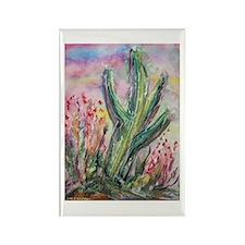 Cactus, southwest, art, Rectangle Magnet