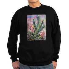 Cactus, southwest, art, Sweatshirt