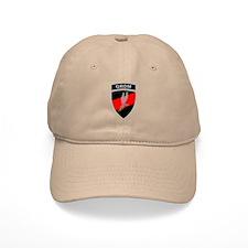 GROM - Red and Black w Tab Baseball Baseball Cap