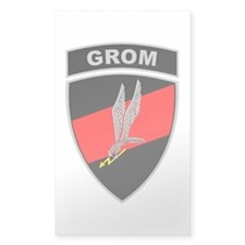 GROM - Red and Black w Tab Decal