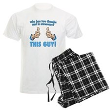 Who Has Two Thumbs And Is Awesome? This Guy! Pajamas