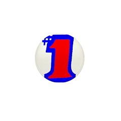 #1, NUMERO UNO Mini Button (100 pack)