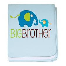 Elephant Big Brother baby blanket