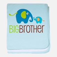 Elephant Big Brother baby blanket