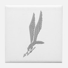 GROM Eagle - Silver Tile Coaster
