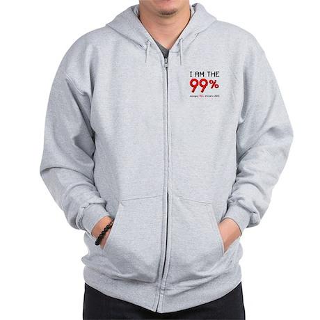 I am the 99% Zip Hoodie
