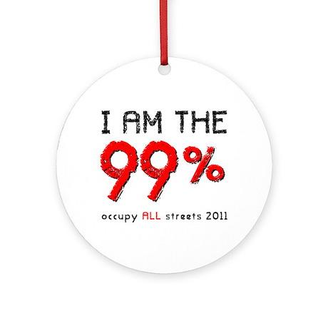 I am the 99% Ornament (Round)