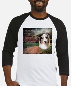 """Why God Made Dogs"" Australian Shepherd Baseball J"