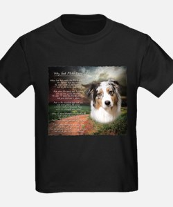 """Why God Made Dogs"" Australian Shepherd T"