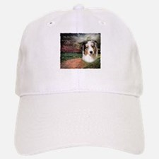 """""""Why God Made Dogs"""" Australian Shepherd Baseball Baseball Cap"""