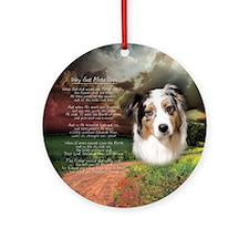 """Why God Made Dogs"" Australian Shepherd Ornament ("