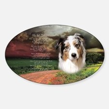 """Why God Made Dogs"" Australian Shepherd Decal"