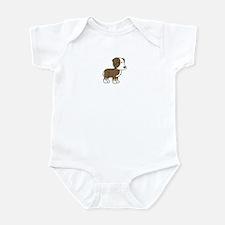 Cute Australian Shepherd Infant Bodysuit