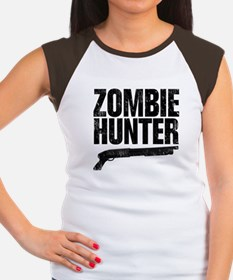 Zombie Hunter Women's Cap Sleeve T-Shirt